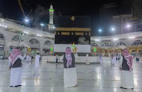Pilgrims Arrive Mecca For Downsized Hajj Maid COVID-19 Pandemic
