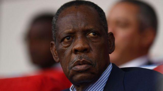Ex-CAF Boss, Hayatou, Bags One-Year FIFA Ban