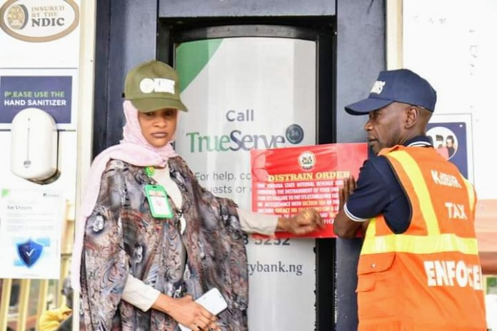 IRS seals GTB, Access, Sterling, First bank over N300.5m tax defaults