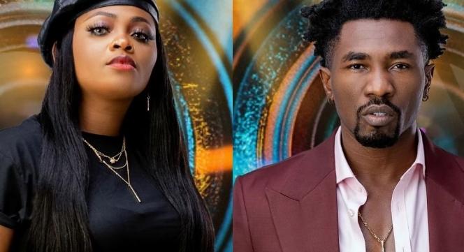 BBNaija 2021: Watch Moment Tega, Boma Were Caught Kissing Amid Husband's Cheating Claim