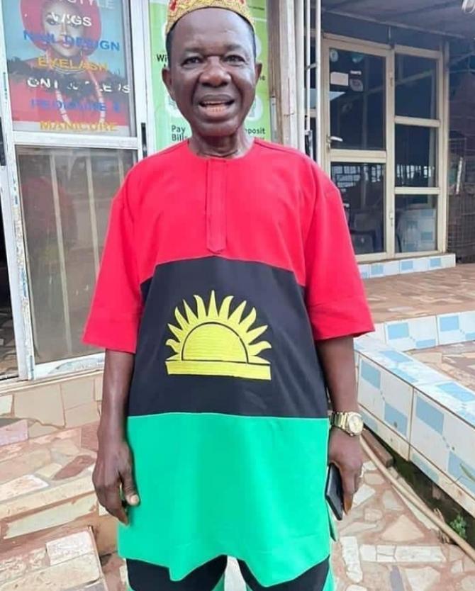 Actor Chinwetalu Agu Brutalized For Dressing In Biafran Outfit