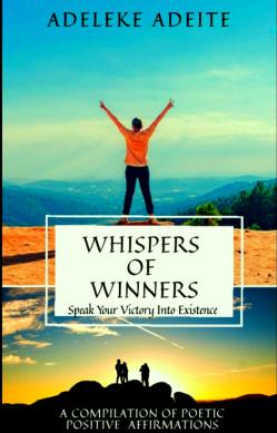 Whispers of winners book by Adeleke Adeite