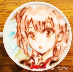 Oregairu_latte-art_Yui-Yuigahama_belcorno