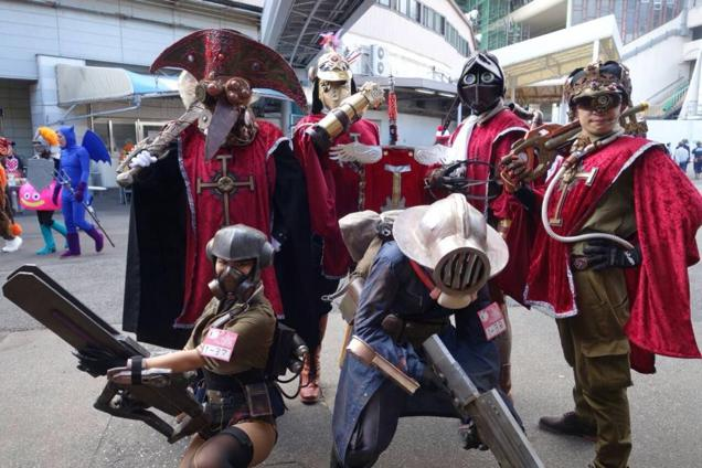 Halloween_musketeers-cosplay_japon