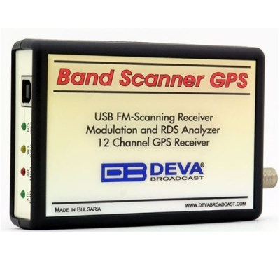 DEVA Broadcast Band Scanner GPS