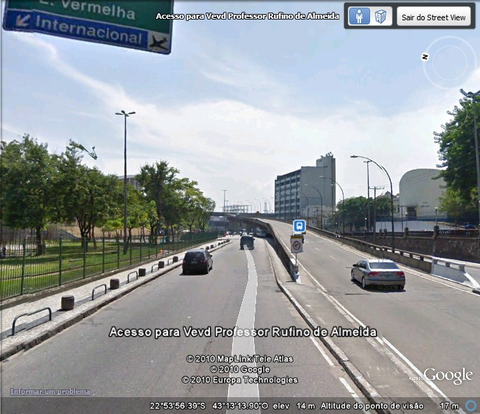 Street View integrado