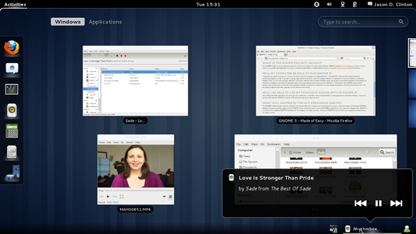 GNOME in Fedora 14 Beta 3