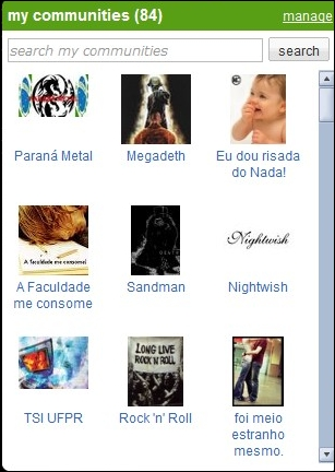 Comunidades no Orkut