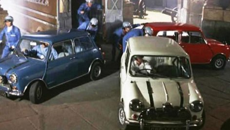 Image result for the italian job 1969