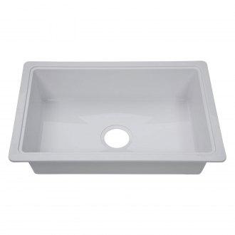 better bath plastic drop in rectangular single bowl kitchen sink 25 l x 17 w