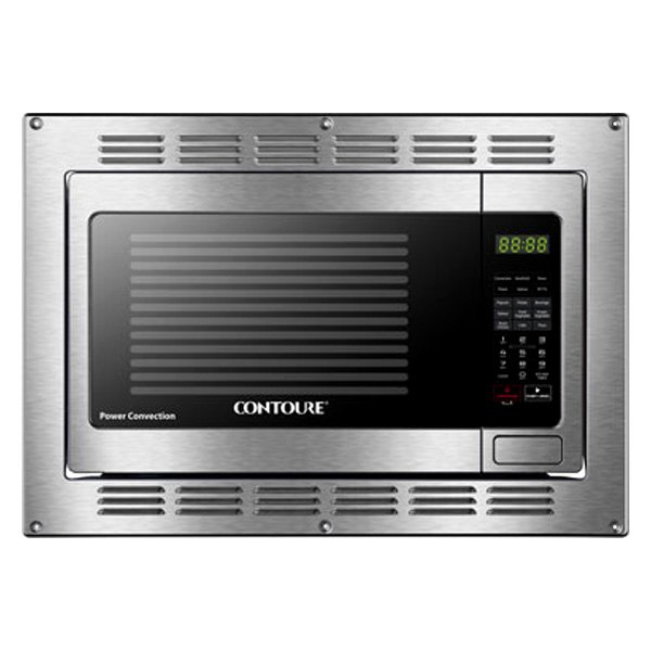contoure rv 200s con smart air fry 1 2 cu ft stainless steel built in rv microwave