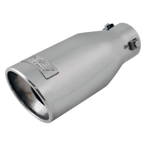 dc sports round bolt on exhaust tip