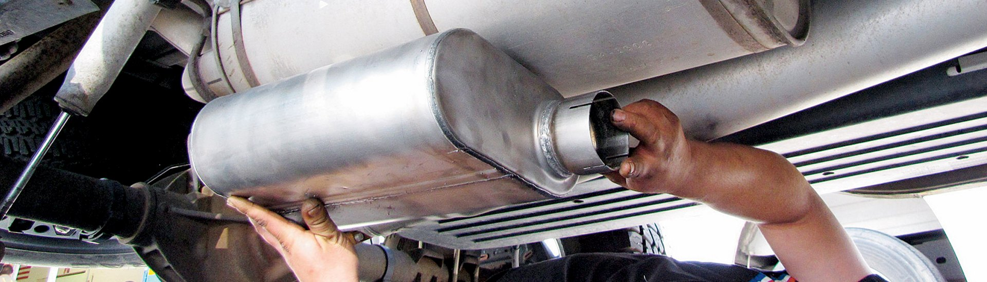 replacement exhaust parts mufflers