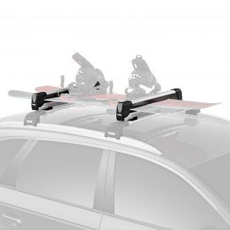 tesla model s roof racks cargo boxes