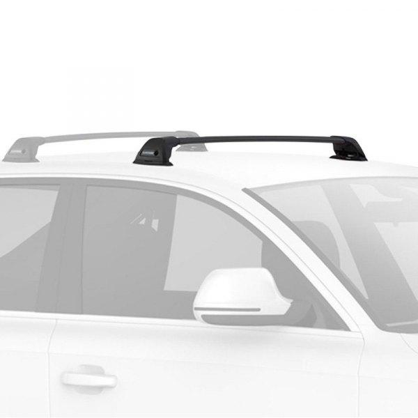 yakima 8000455 flushbar black small roof rack system