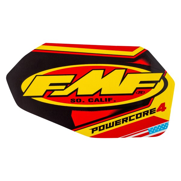 fmf racing fmf powercore 4 straight replacement exhaust wrap decal