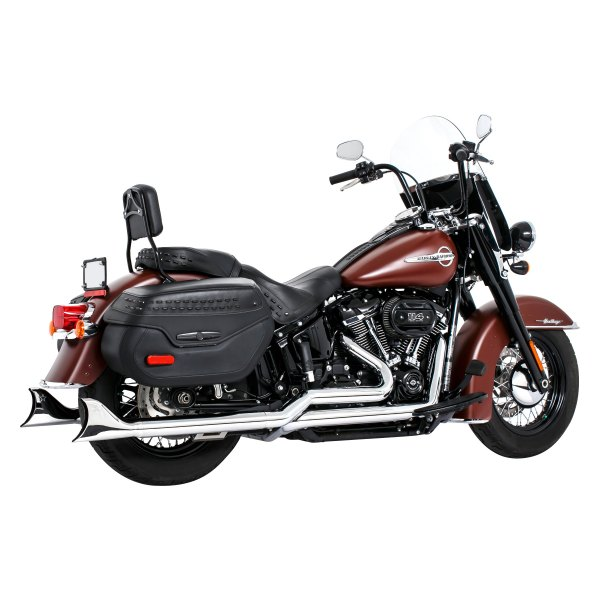 freedom performance sharktail signature true dual exhaust system
