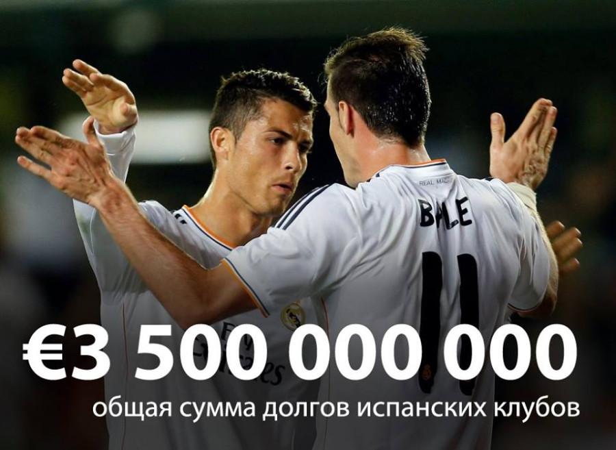 борги іспанського фудболу
