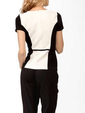 Essential Panel Contrast Top back