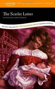 scarlet-letter-kaplan-sat-score-raising-classic-nathaniel-hawthorne-paperback-cover-art