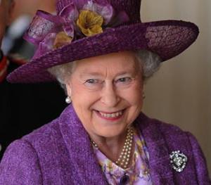 cullinan v Queen Elizabeth with Cullinan V pin