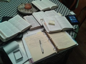 Charles study layout  preaching