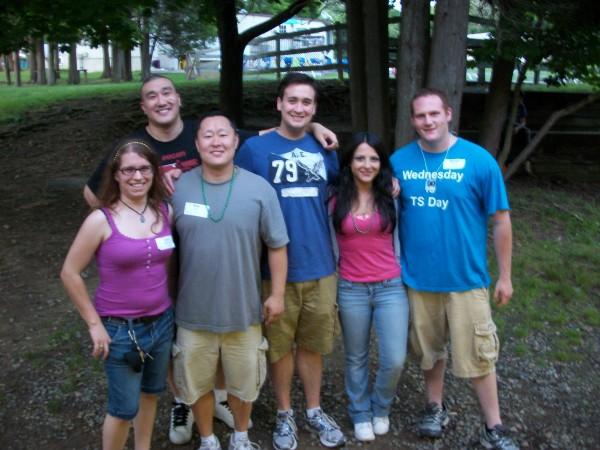 Camp Bernie mentors 2012