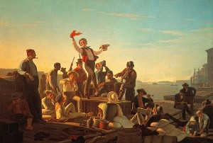 George_Caleb_Bingham_-_Jolly_Flatboatmen_in_Port