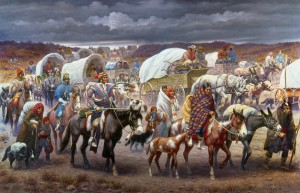The Trail of Tears by Robert Lindneux