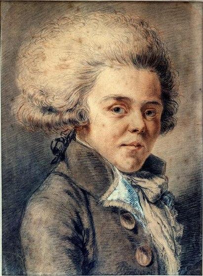 Карикатурный портрет работы Пьера Шоссара