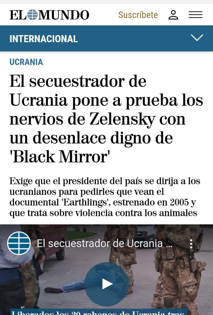 """Затримання терориста - """"чорне дзеркало"""" Зеленського"""