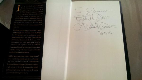Elizabeth Nunez signature