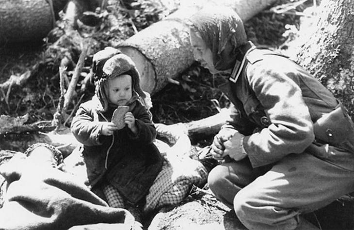 Дети в Великой Отечественной войне. Фото