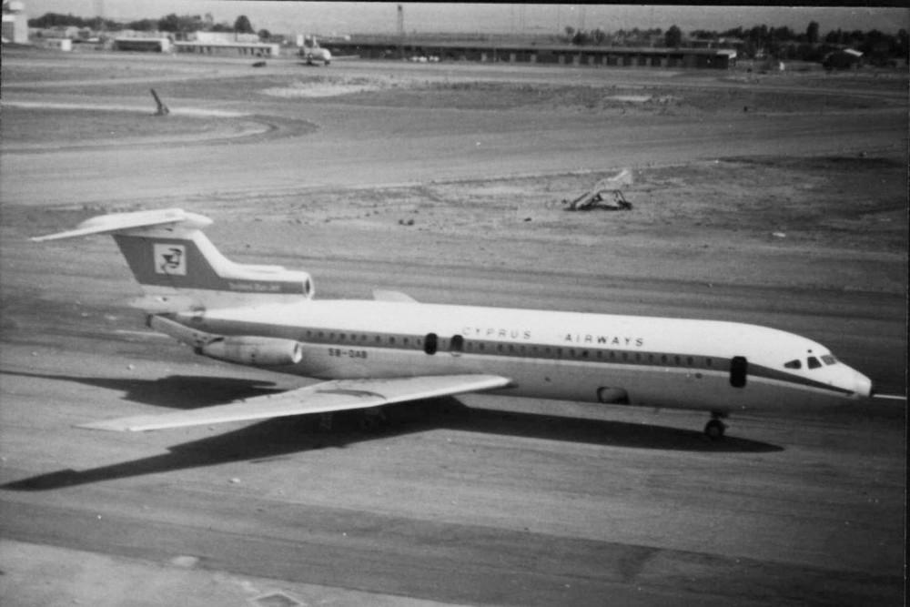 Разрушенный самолет Cyprus Airways. Архивное фото с сайта Airliners.Net