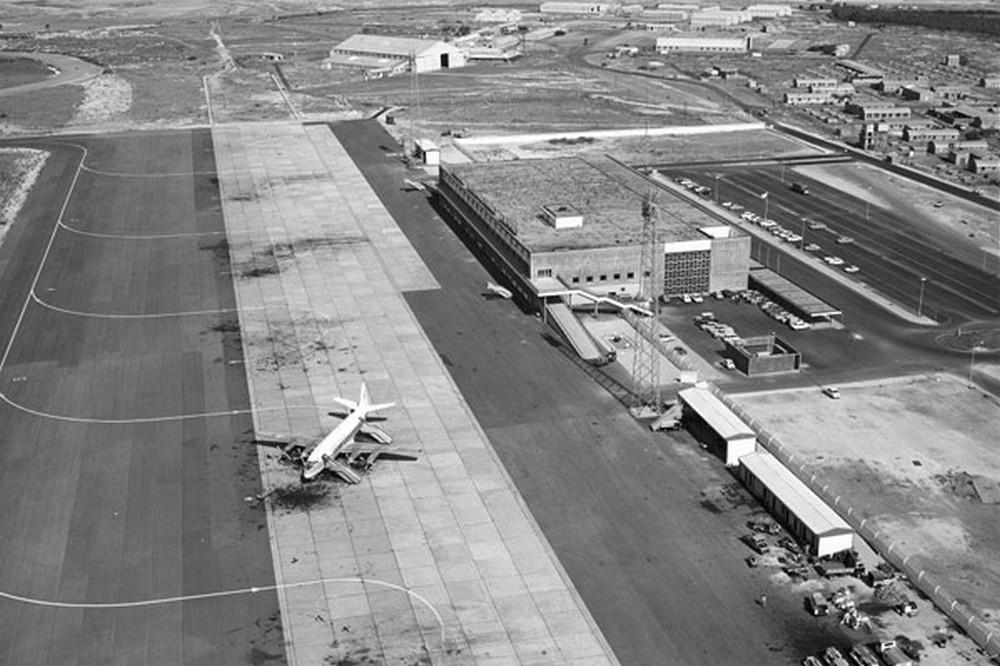 Аэропорт Никосия, вид с воздуха. Архивное фото с сайта cyprusairports.com.cy