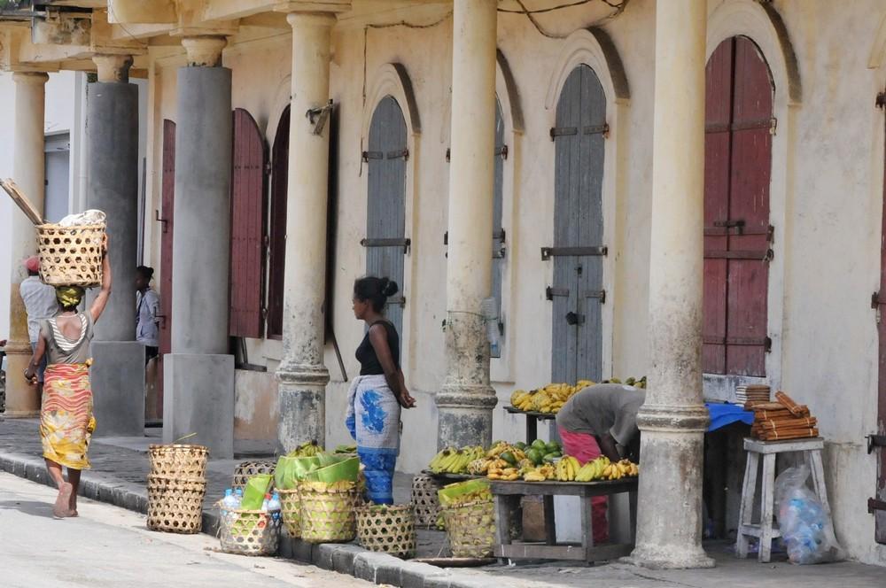 Мадагаскар. Торговки в Туамасине