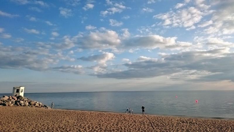 1209485 800 Зеленогорск. Пляж. Облака. 9