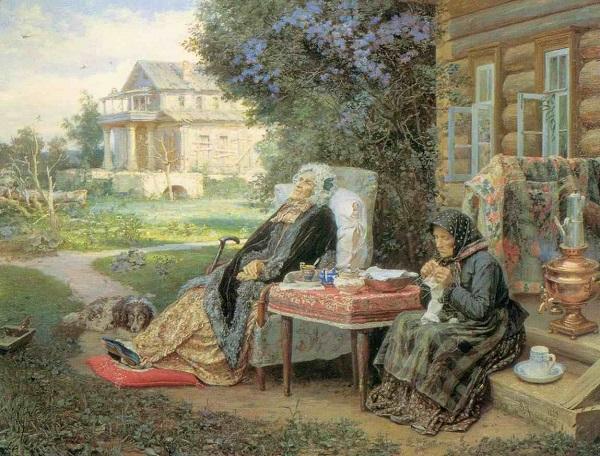 Василий Максимов, «Все в прошлом», 1889 год