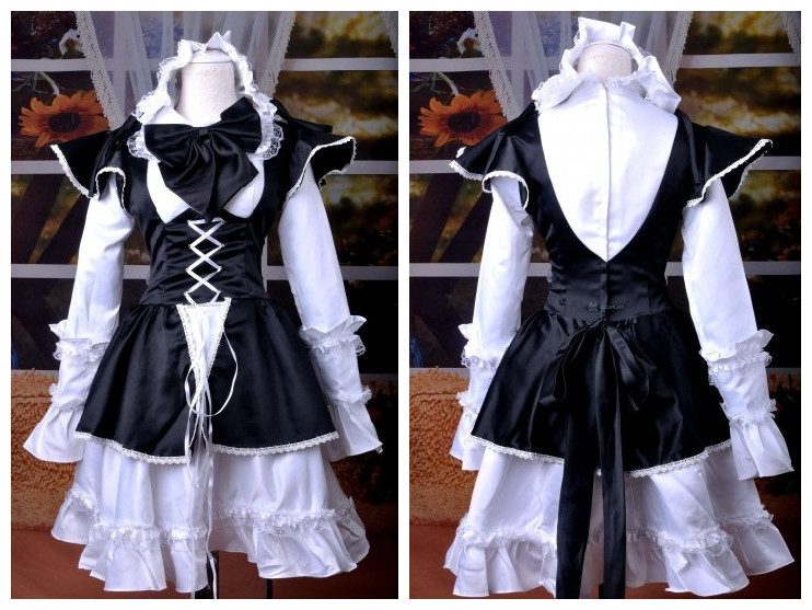 maid cosplay dress