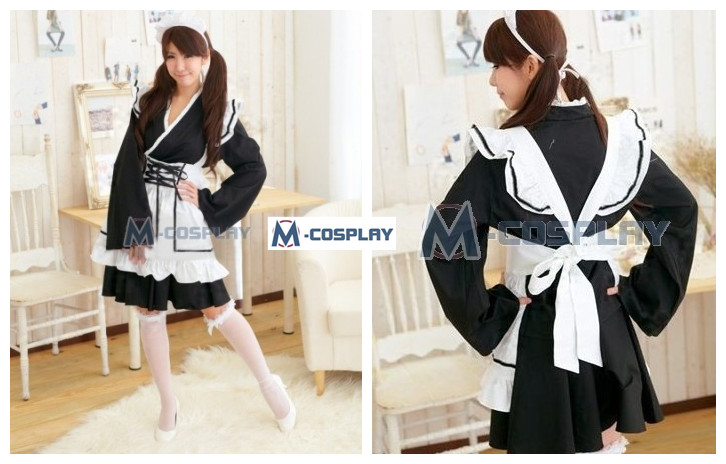 Inuyasha Maid Cosplay costume