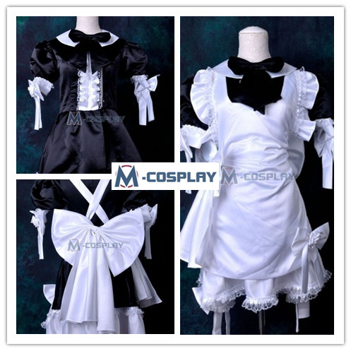 Japanese Maid cosplay costume