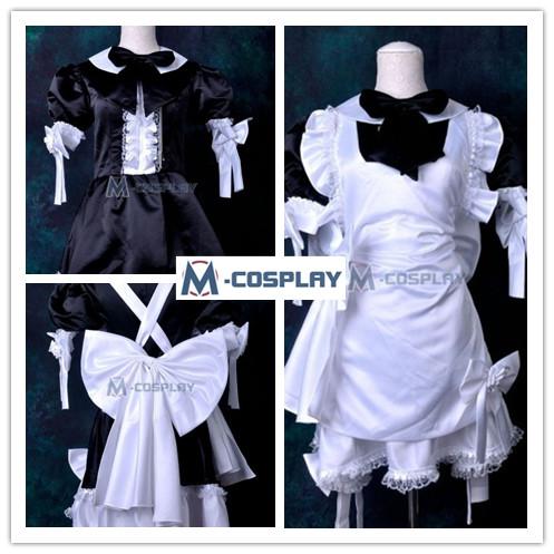 Japanese Maid cosplay costume