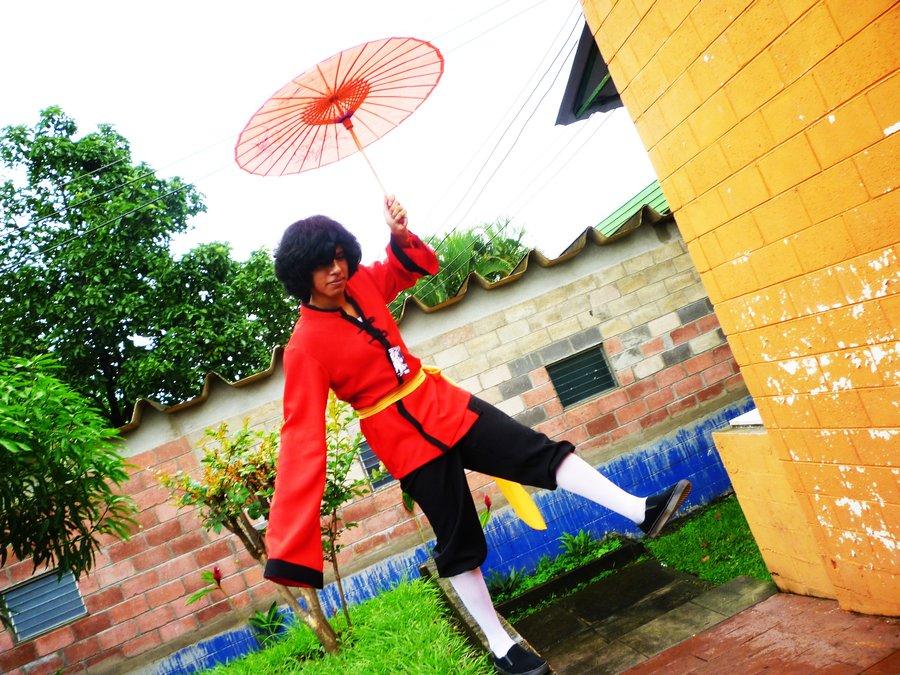 Hetalia Hong Kong cosplay