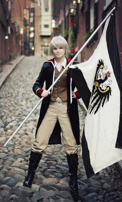 Hetalia Prussia cosplay