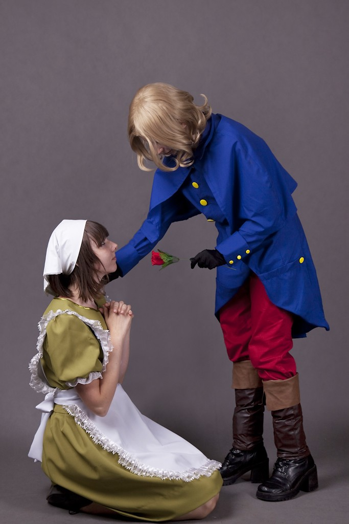 Hetalia Group Cosplay