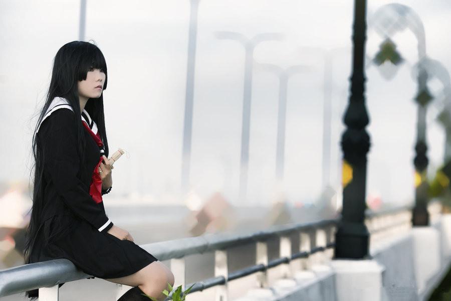 Jigoku Shoujo Enma Ai cosplay