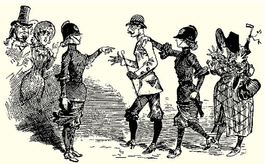 Female Police Officers 1883