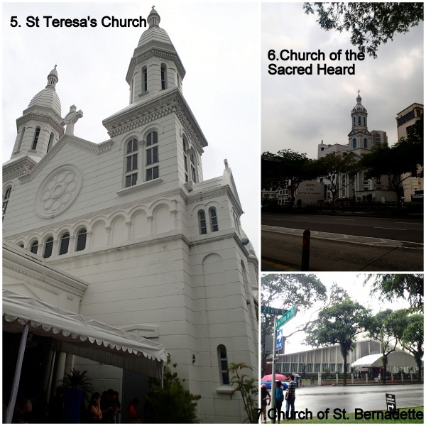 last three churches