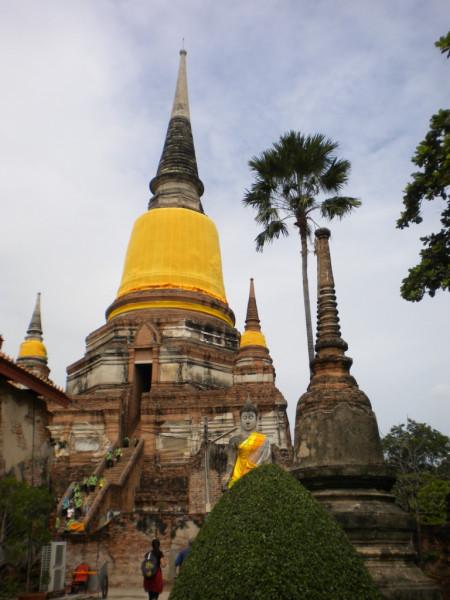 1Wat Yai Chai Mongkhon main chedi or stupa