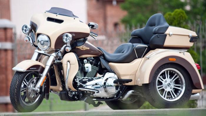 TТрехколесный Harley-Davidson